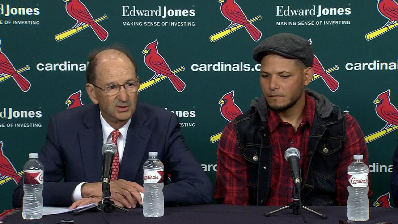 Where does Yadi extension leave Kelly?