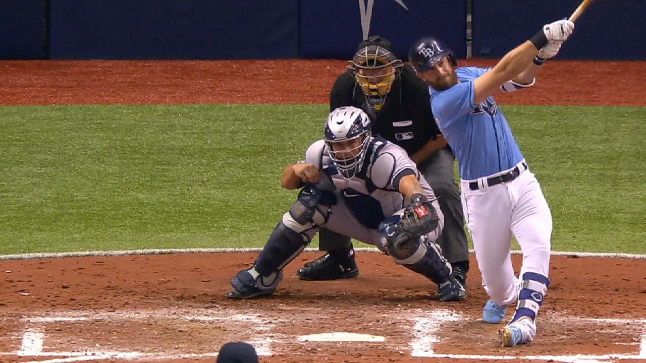 Longo channels Game 162 with first HR of '17