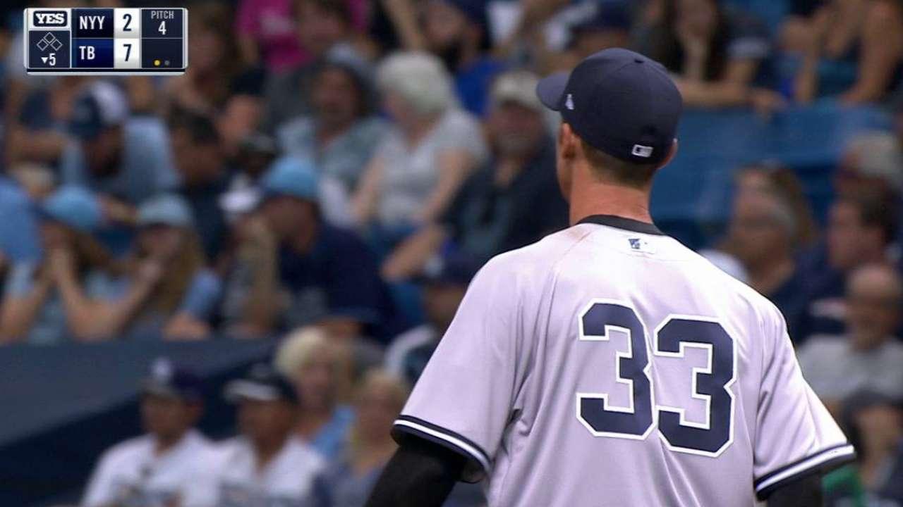 Yankees' Warren: 'My value is in bullpen'