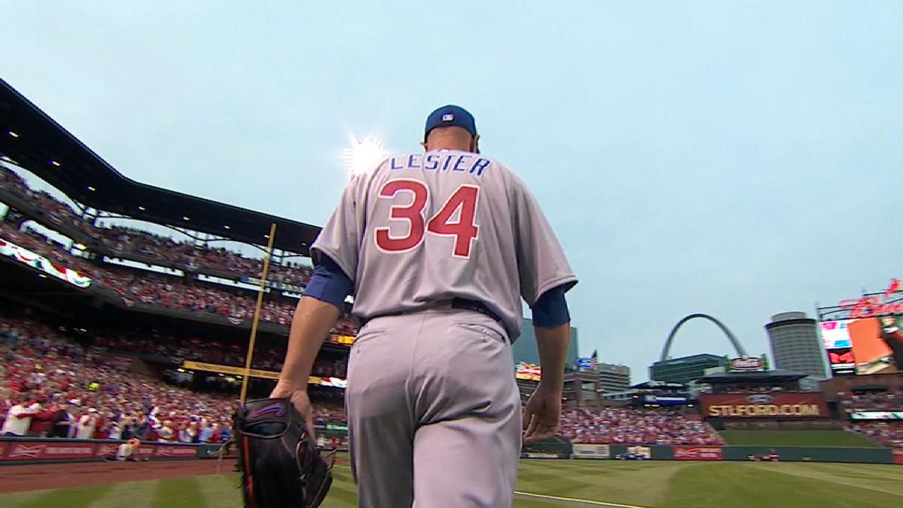 Lester's solid Opening Day start