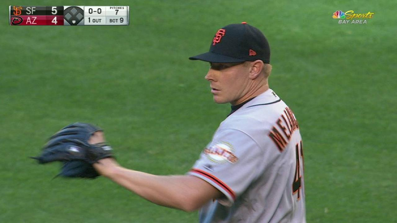 Melancon moving on from forgettable debut