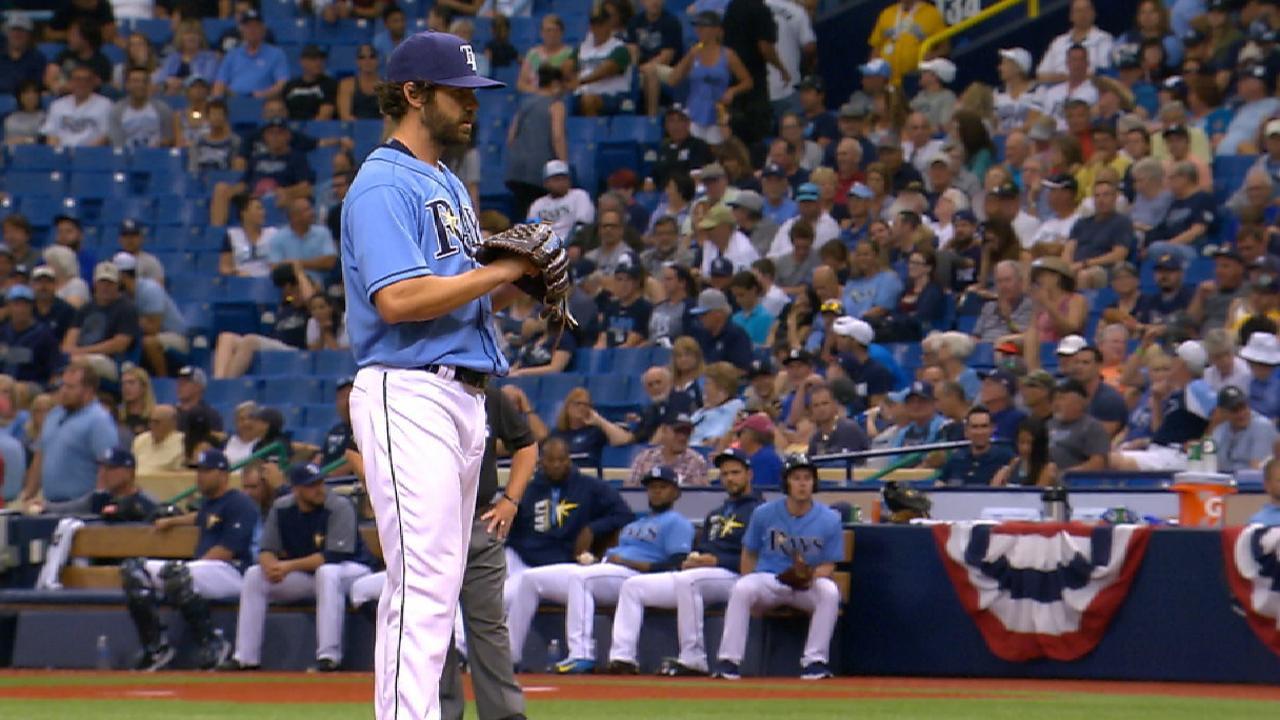 Pruitt makes MLB debut