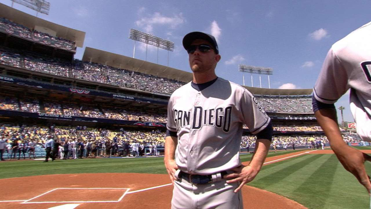 Green, Padres brush off outside expectations