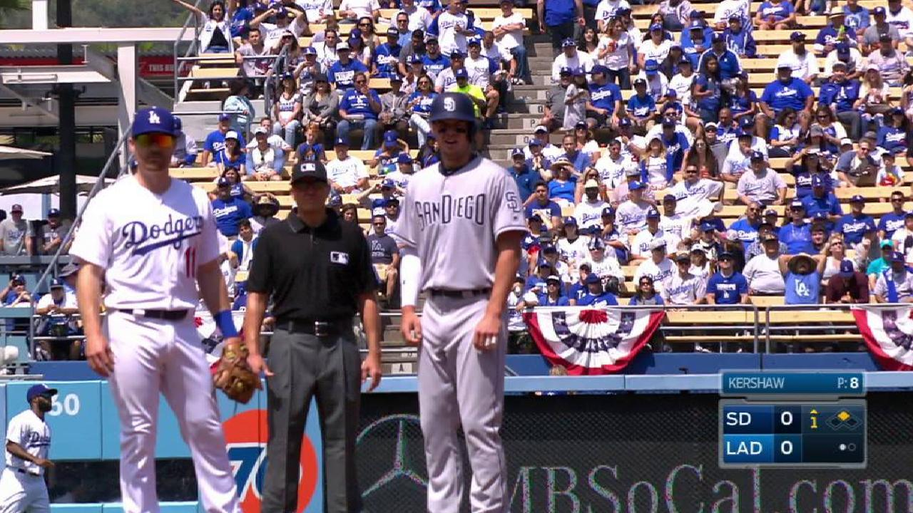 Seager's throwing error