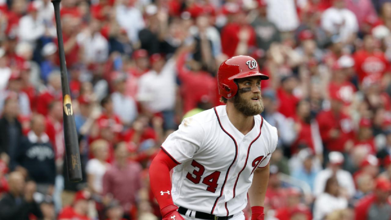 Harper adds to Opening Day magic