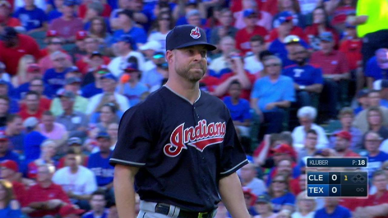 Kluber's first K of the season