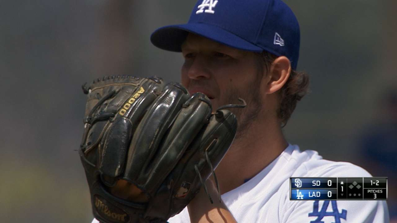 Kershaw still a master of (opener) ceremonies