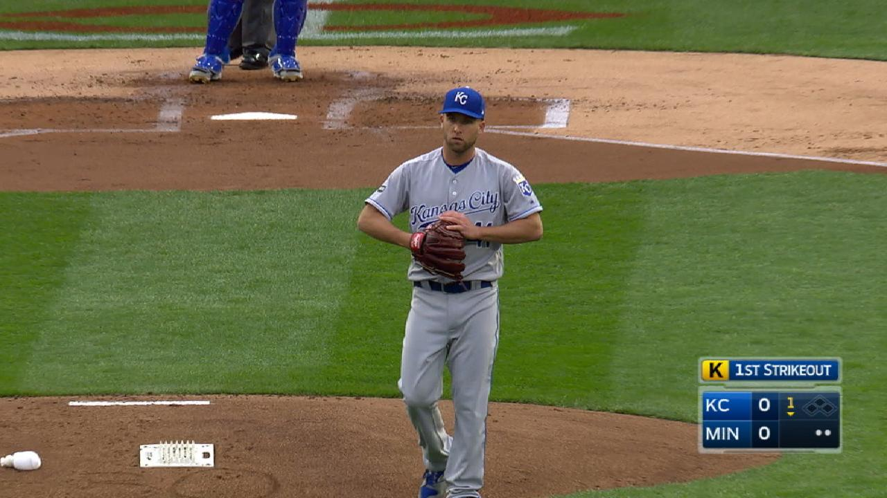 Duffy strikes out eight