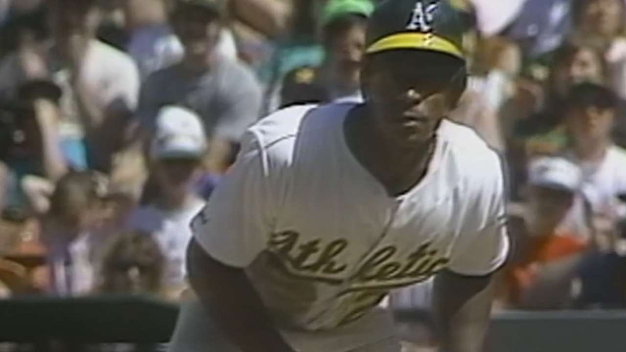 'A great honor': A's dedicate field for Rickey
