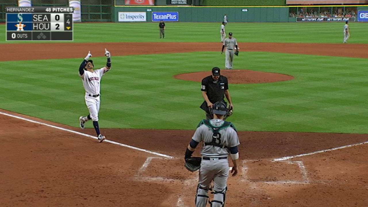 Pitching, HRs, defense propel Astros to win