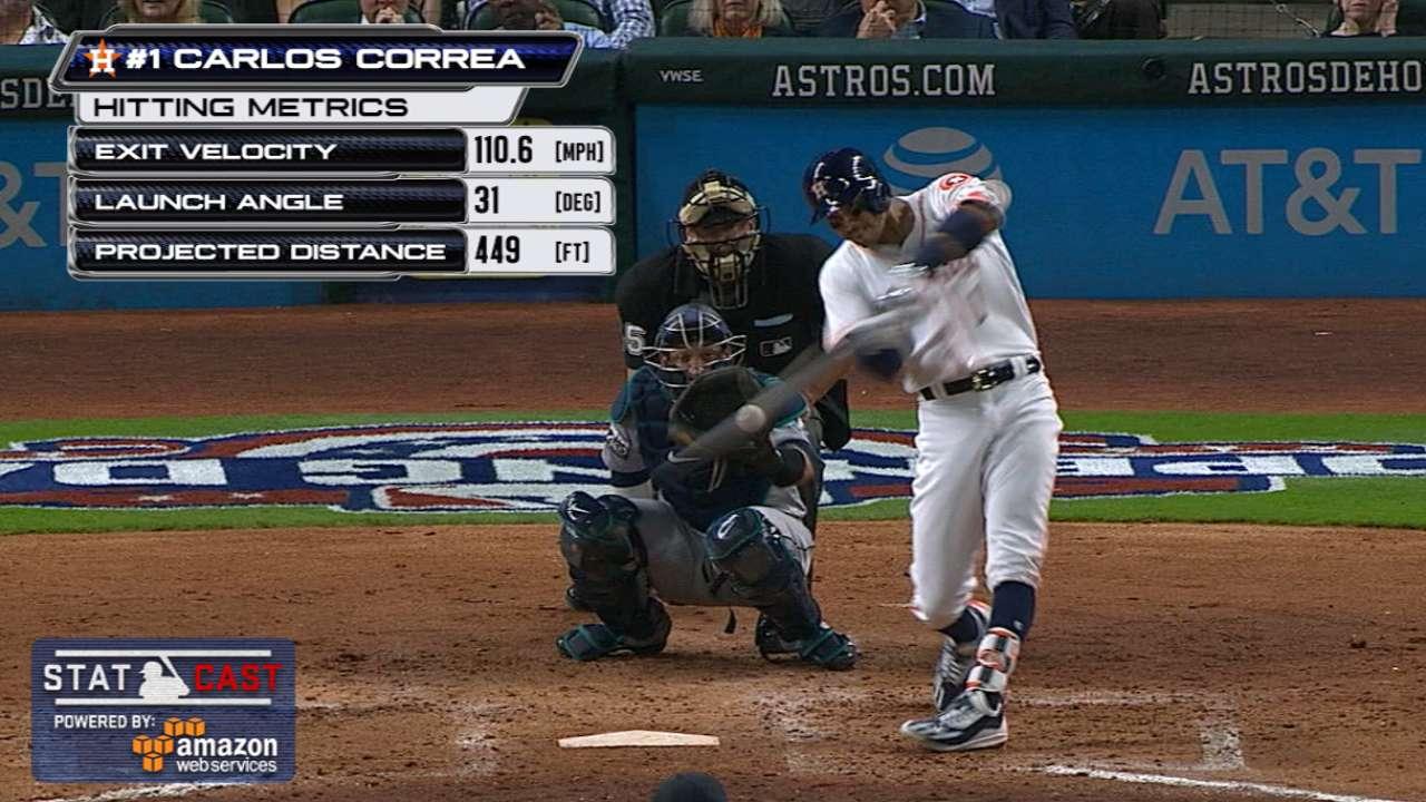 Statcast: Correa's 449-foot homer