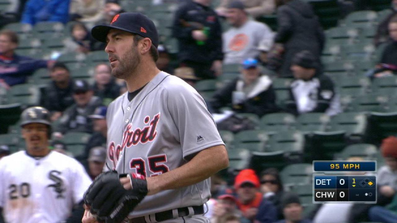 Verlander strikes out Anderson