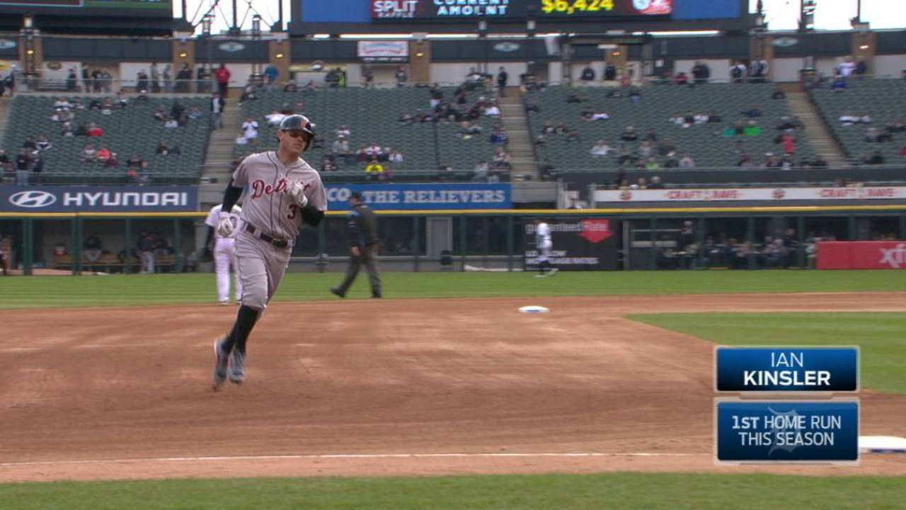 Kinsler's solo home run