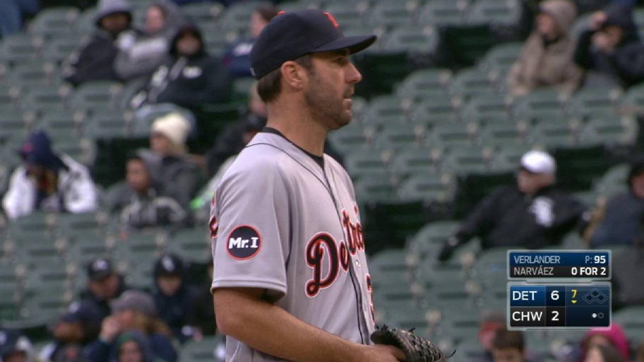 Verlander's 10th strikeout