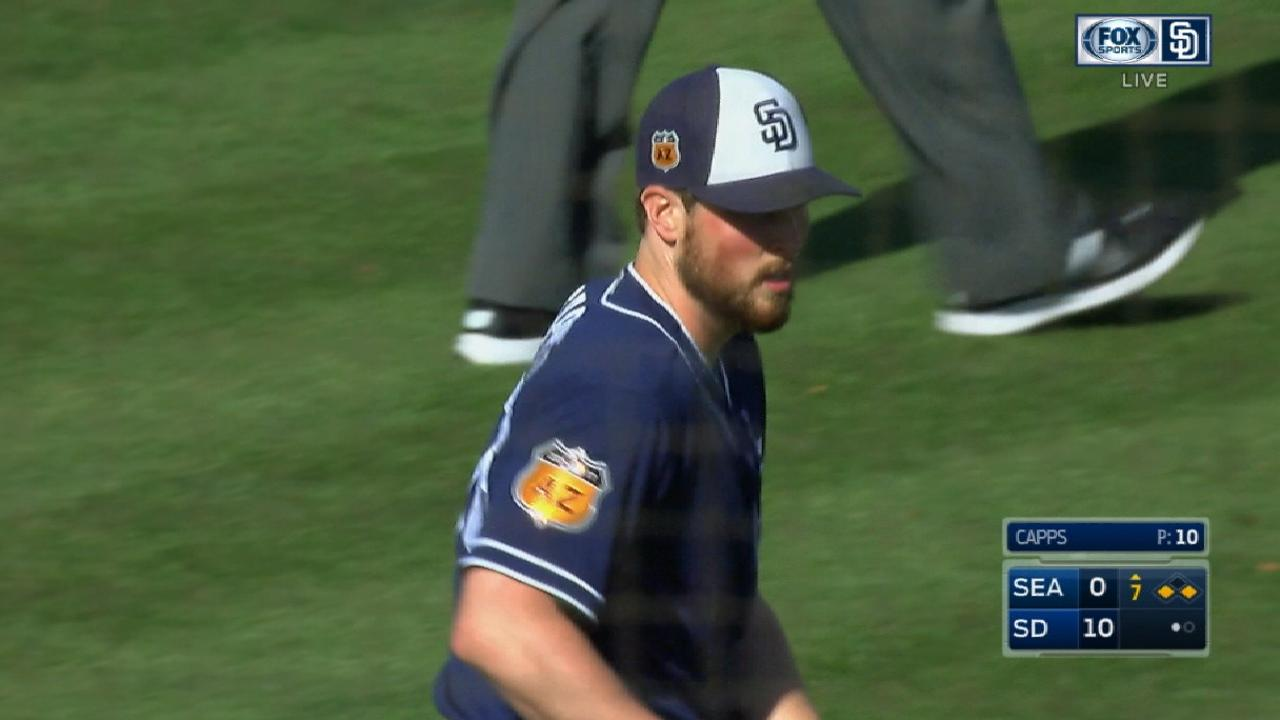 Capps closing in on rehab assignment