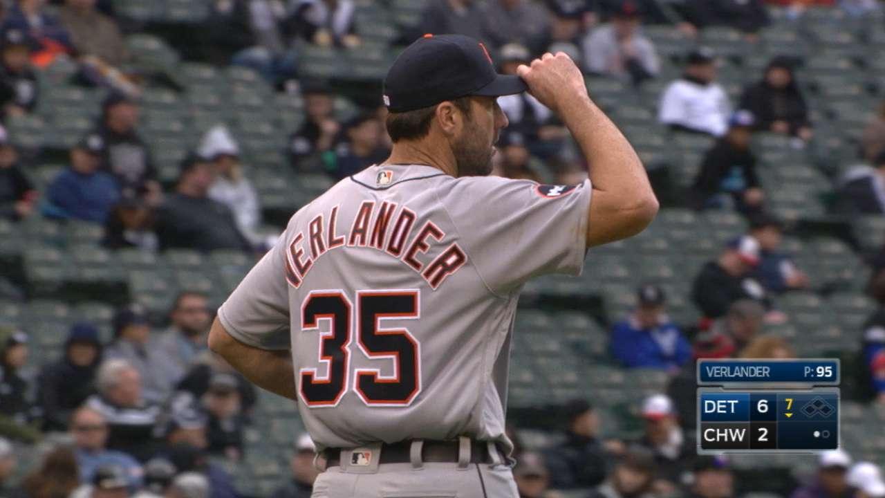 Tigers open with a flourish behind Verlander