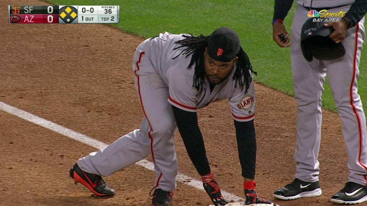 Cueto connects on single