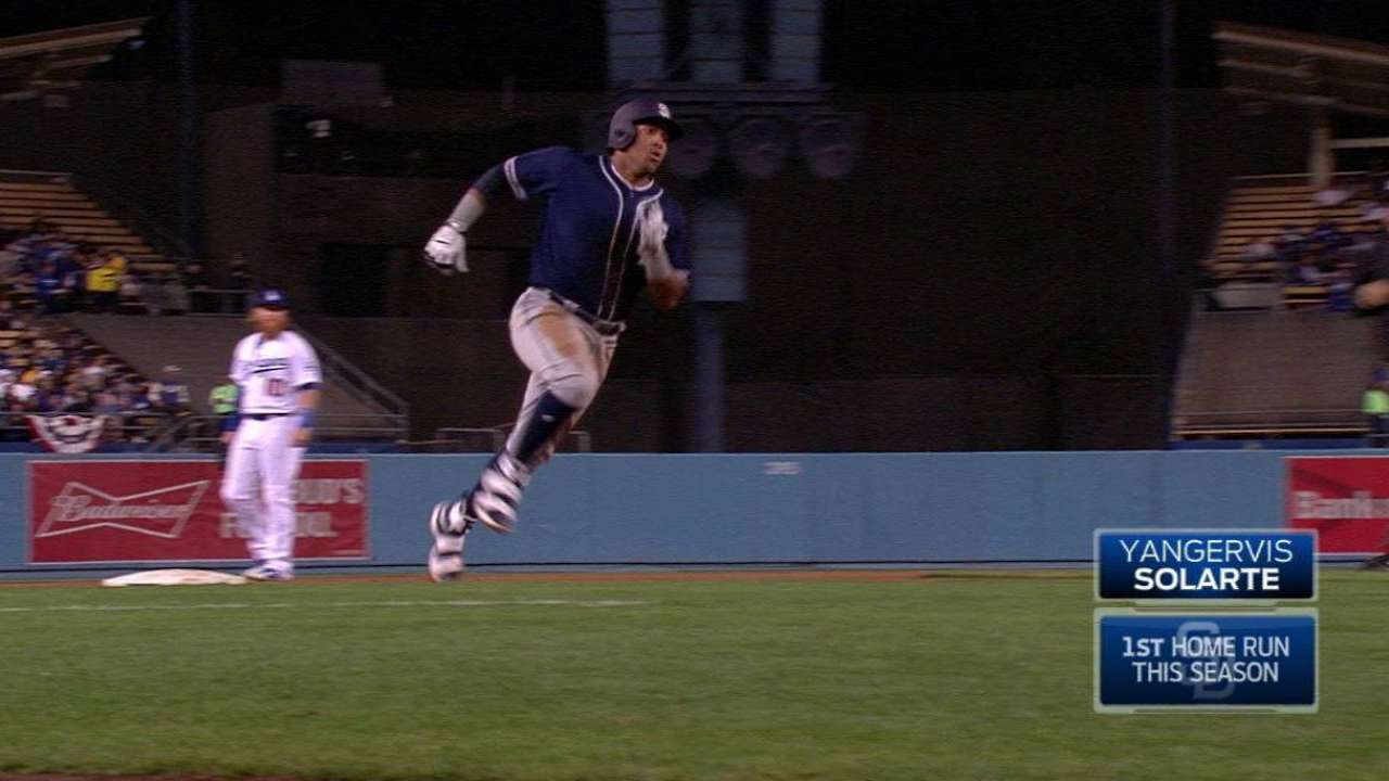 Solarte, Richard put Padres in win column