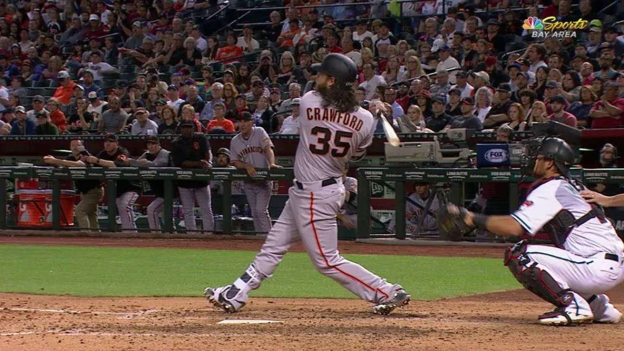 Bochy sees more power coming from Crawford