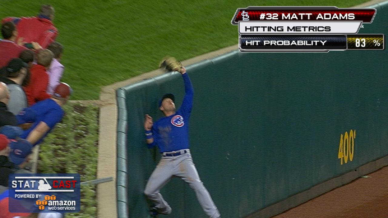 Almora's catch sets the tone for Cubs' D