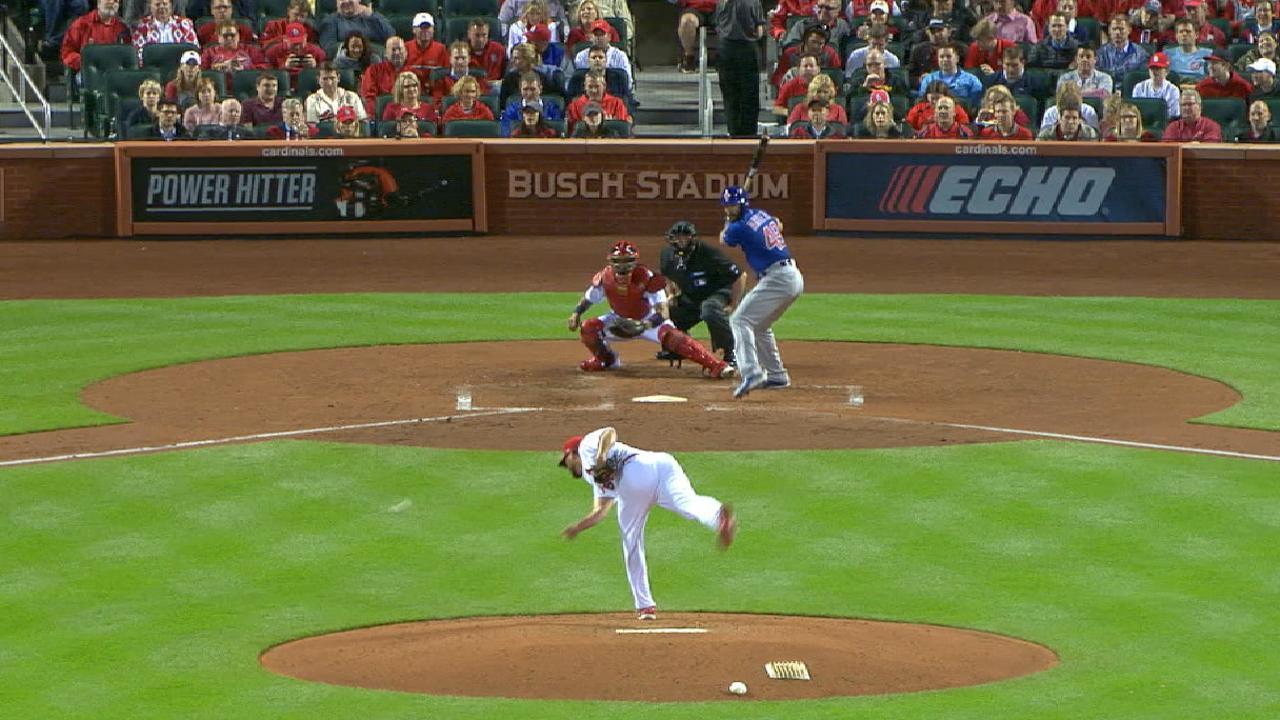 Wainwright explains wildest of wild pitches