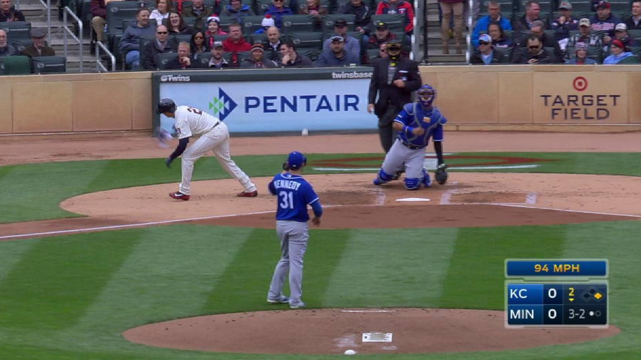 Royals struggle with Twins' patience at plate