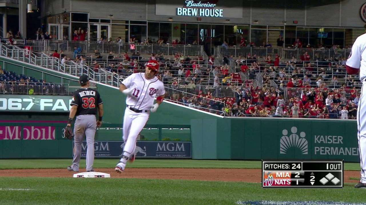 Zimmerman's solo home run