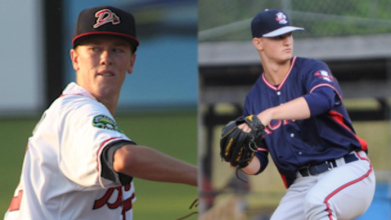 Mayo on Braves' Double-A arms