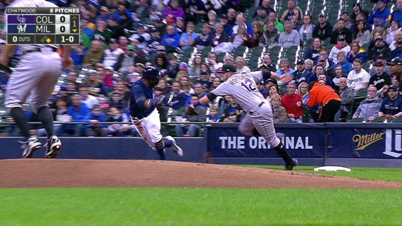 Balk irks Chatwood more than home run balls