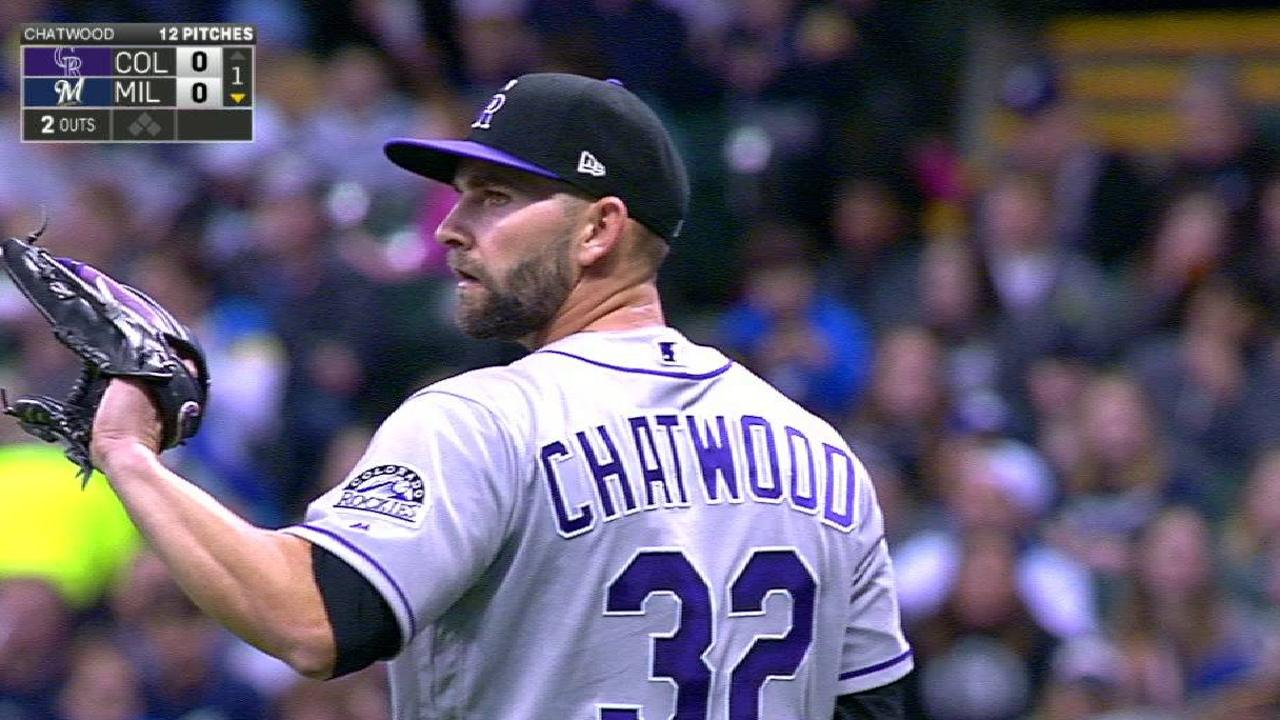 Chatwood's 1st-inning K