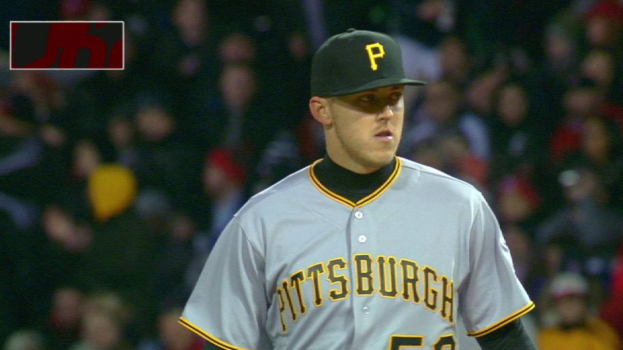 Taillon gets out of the jam