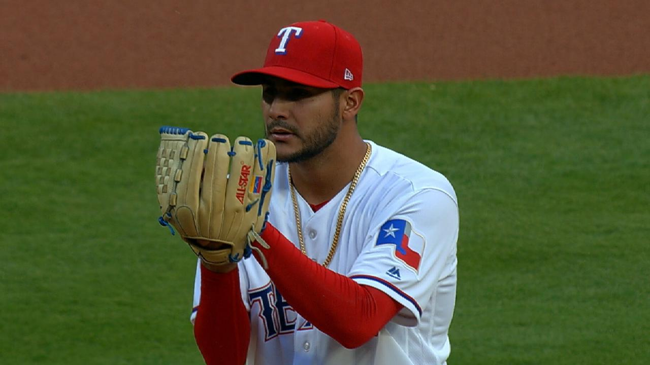 Rangers pitchers issuing too many walks