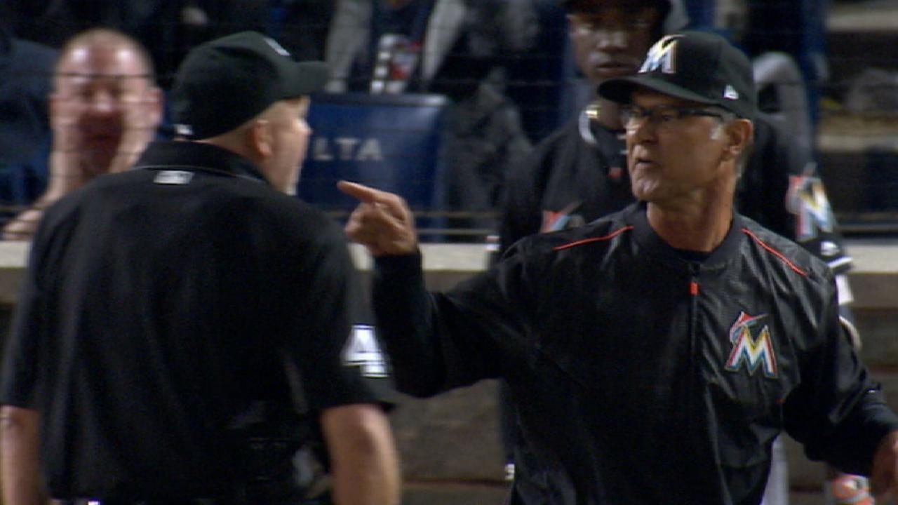 Mattingly gets tossed