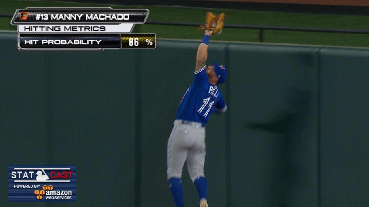 Statcast: Pillar robs Machado