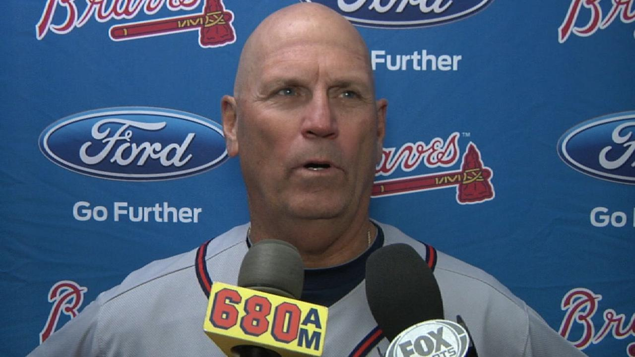 Snitker on win over Mets