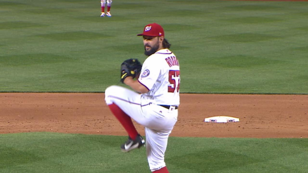 Roark strikes out six
