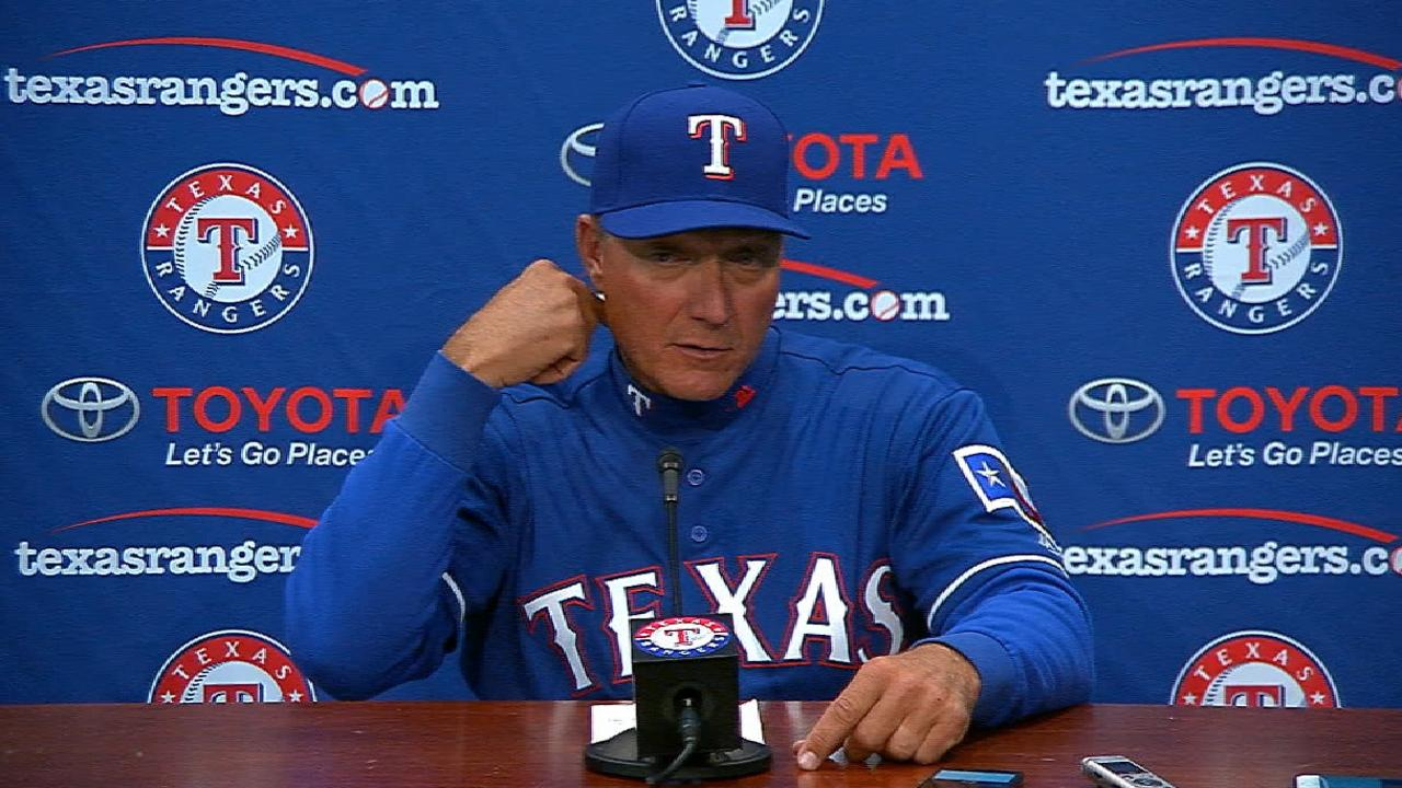 Rangers not ready to change closer