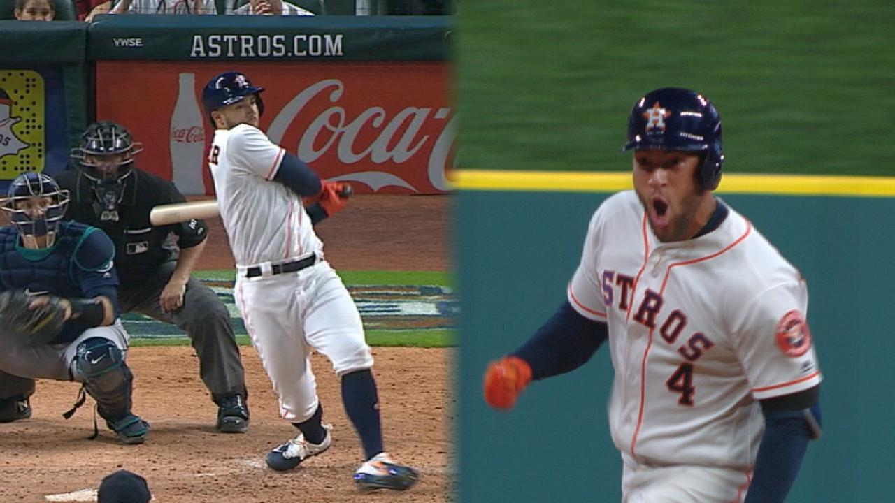 Springer powers Astros to win