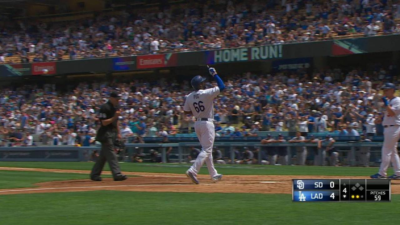 Puig's second two-run homer