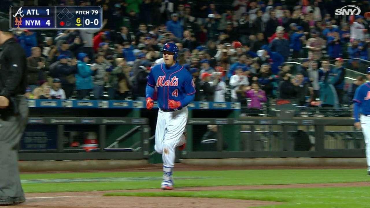 Mets superan a Bravos en regreso de Matt Harvey