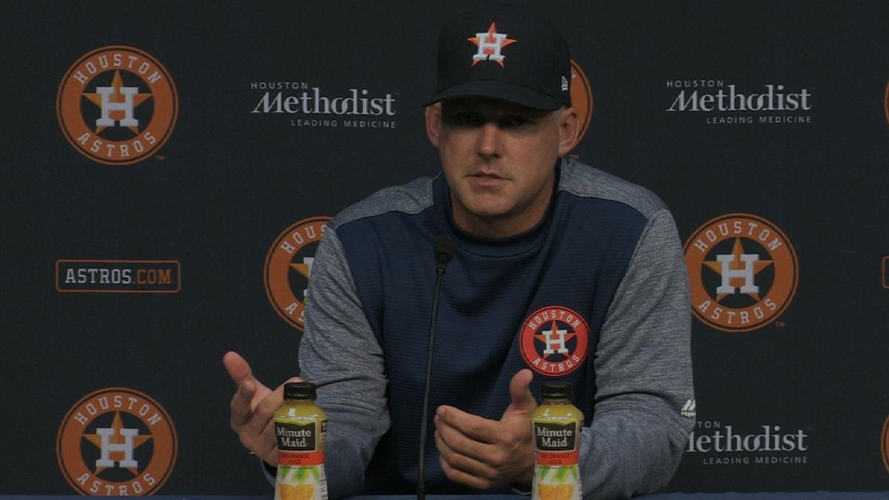 Hinch on loss to Mariners