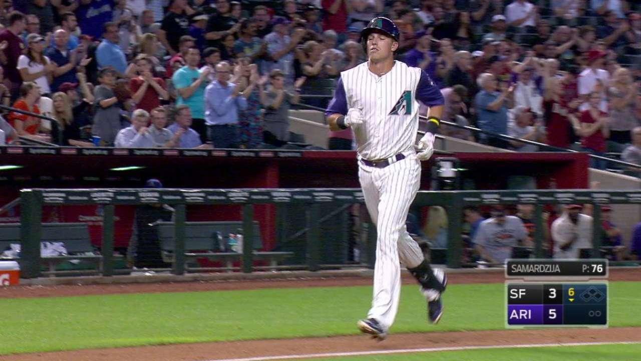 Lamb's three-run home run