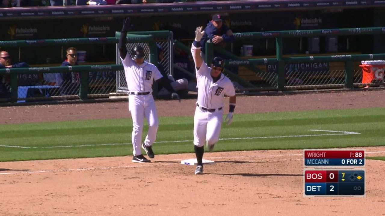 McCann's two-run home run