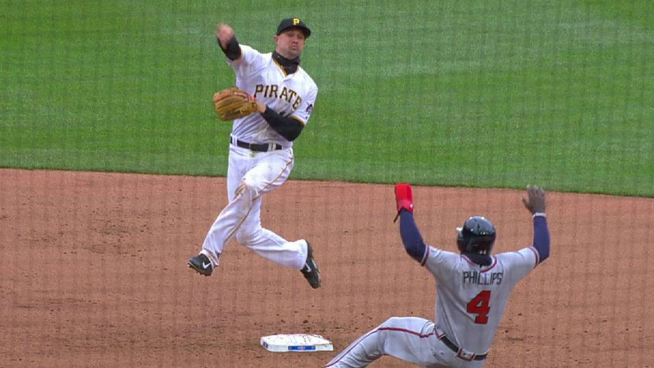 Pirates turn sweet double play