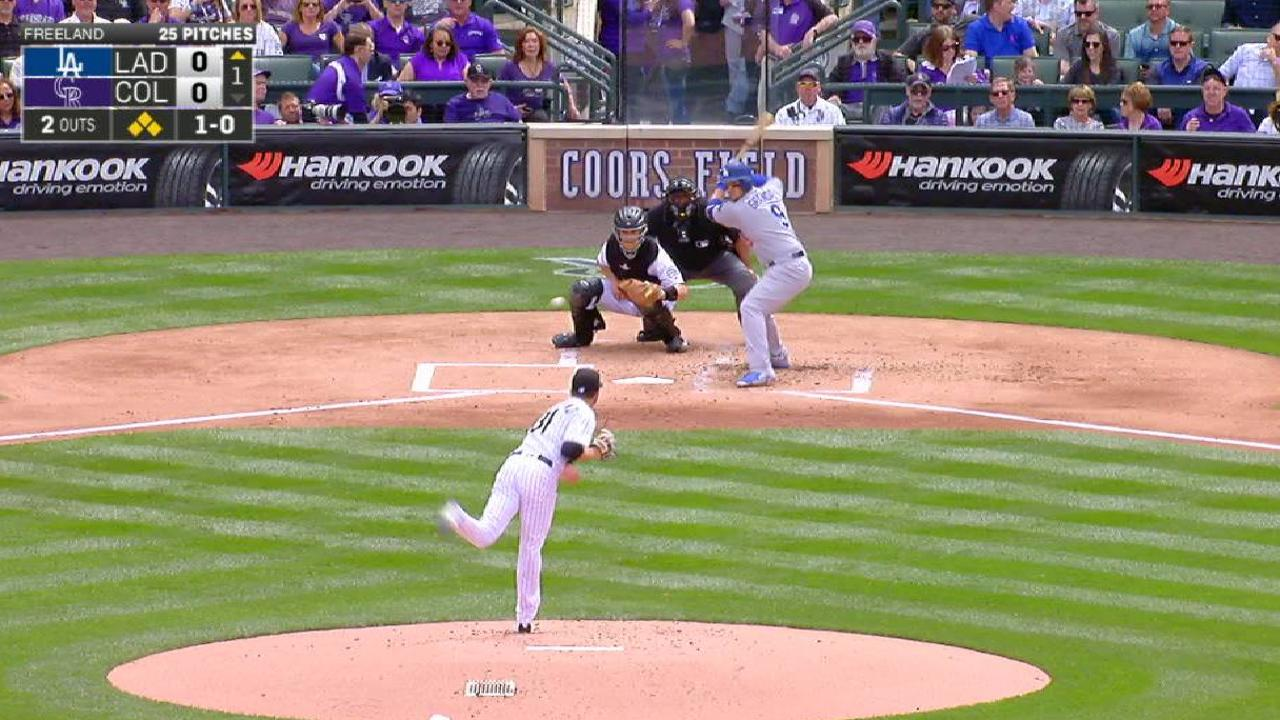 Freeland escapes jam in 1st
