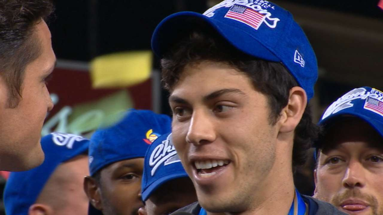 Yelich on WBC 2017 championship