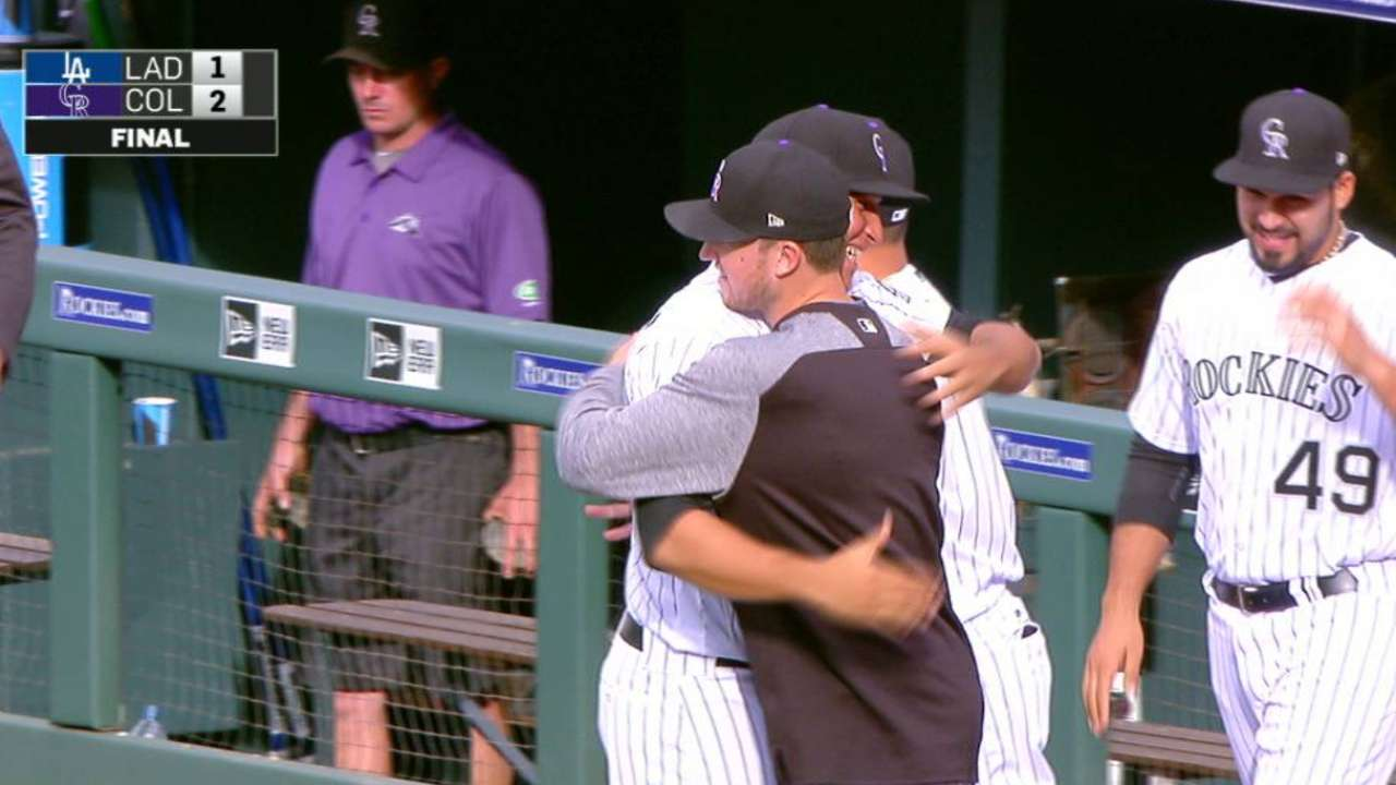 What a relief: Bullpen saving Rockies now