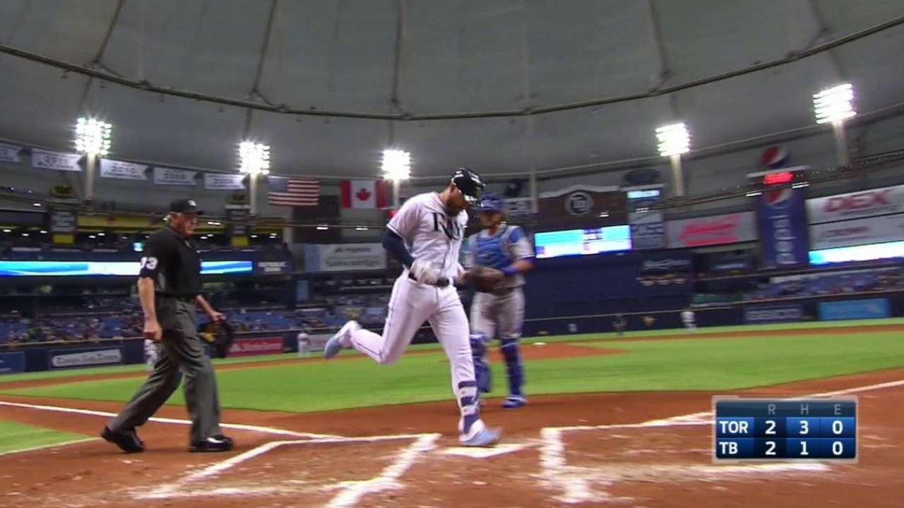 Longo, Souza help lift Rays past Blue Jays