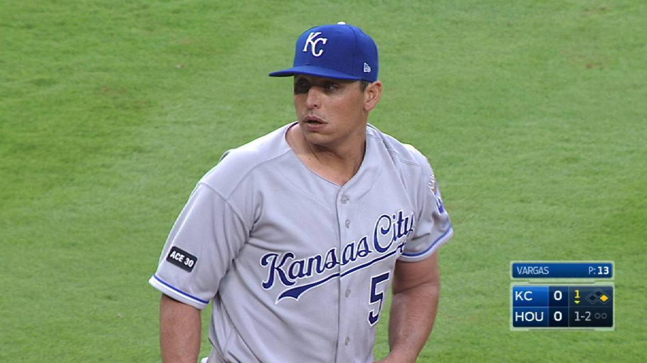Vargas' first K of 2017