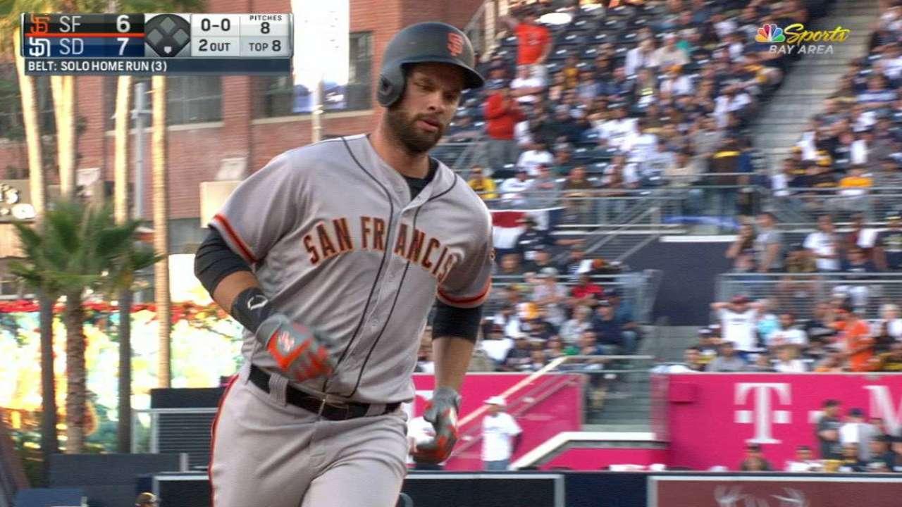 Belt's second home run